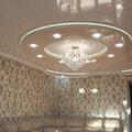 Монтаж подвесного зеркального потолка