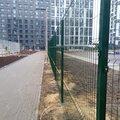 Металлический 3д забор