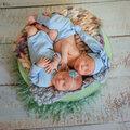 фотосессия новороженных с выездом на дом с реквизитом