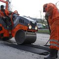 Ямочный ремонт асфальтового покрытия