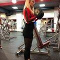 Занятие по фитнес-бикини