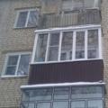 Установка балконных рам с выносом