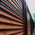 Строительство деревянных заборов