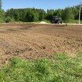 Культивация, рыхление, земли, участка, огорода почвофрезой трактором или минитрактором