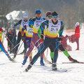 Занятие по беговым лыжам