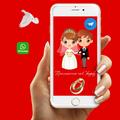 Пригласительные на свадьбу для отправки на смартфон. Свадебный сайт