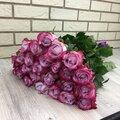25 пурпурных роз, 60см