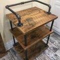 Авторская мебель и изделия из древесины. Браширование.