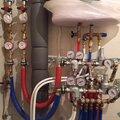 Монтаж измерительного оборудования для воды и тепла