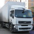 Перевозка продуктов в изотермическом фургоне: Volvo