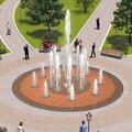 Проектирование плоскостных фонтанов