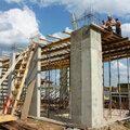 Устройство бетонных колонн