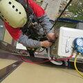 Замена конденсатора наружного блока кондиционера