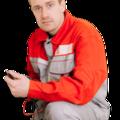 Сергей Ольхов, Работы с электрооборудованием в Усть-Лабинском районе