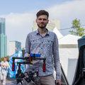 Илья Комолов, Съемка с квадрокоптера в Москве
