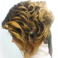 Укладка волос после стрижки
