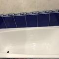 Реставрация ванн , жидким акрилом .