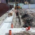 Прокладка труб водоснабжения и канализации