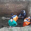 Мухамед Гашов, Монтаж ливневой канализации в Пересветове
