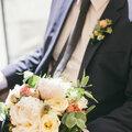 Букет невесты (бутоньерка в подарок!)