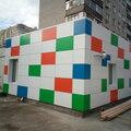 Николай Бобровский, Монтаж фасада из фасадных панелей в Кореновске