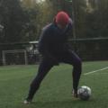 Занятие по футболу