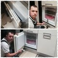 Ремонт дверей холодильника