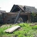 Демонтаж деревянных стен и перекрытий