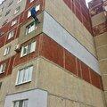 Окраска фасадов при высотных работах