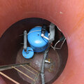 Монтаж кессона для скважины