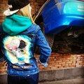 Роспись джинсовок, одежды