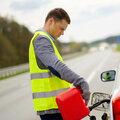 Экстренная доставка топлива в дороге