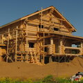 Рубленные дома из бревна