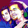 Wpap портрет - новый стиль поп арт