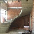 Заливка бетонных лестниц