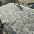 Монтаж тротуарной плитки, декоративного камня, бордюров.  Подготовка основания, бетонные работы