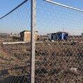 Строительство забора из сетки Рабица
