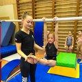 Занятие по спортивной гимнастике