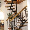Изготовляем лестницы из дерево и металла