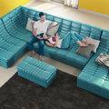 3d визуализация дивана в интерьере