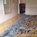 Демонтаж напольных покрытий