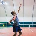 Занятие по большому теннису