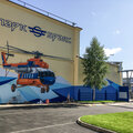 граффити оформление фасада