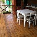 Нанесение покрытия на деревянный пол