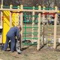 Оборудование детских площадок игровым оборудованием
