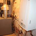 Монтаж котельной с основным напольным и резервным настенным газовыми котлами; контур радиаторы, теплые полы, бойлер; обвязка медными трубами, пайка.