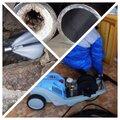 Промывка труб систем канализации