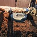 Канализация (сливная яма)под Ключ , Производство земляных работ в Светлом сельсовете