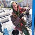 Алексей Бушуев, Покраска фасадов в Ачинске