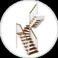 Лестницы СПб, Монтаж лестничного полотна в Санкт-Петербурге и Ленинградской области